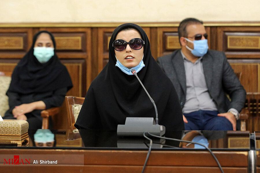 دیدار جمعی از نابینایان کشور با رئیس قوه قضاییه