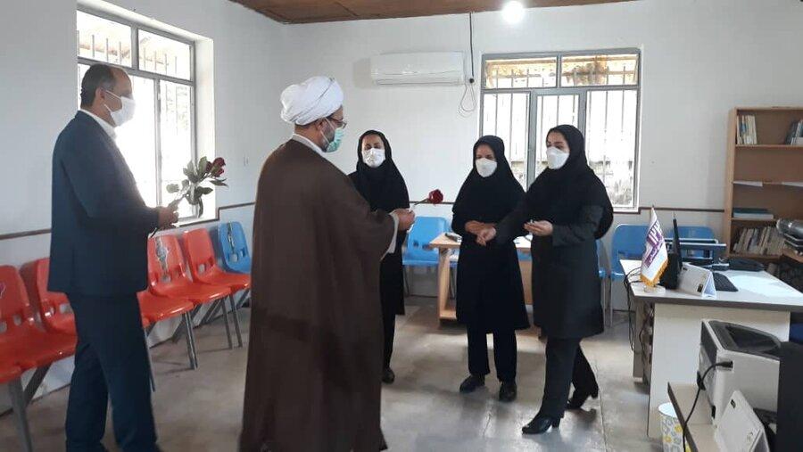 بازدید از مرکز توانبخشی بیماران روانی مزمن فجر آرامش و اورژانس اجتماعی چوکام به مناسبت هفته سلامت روان