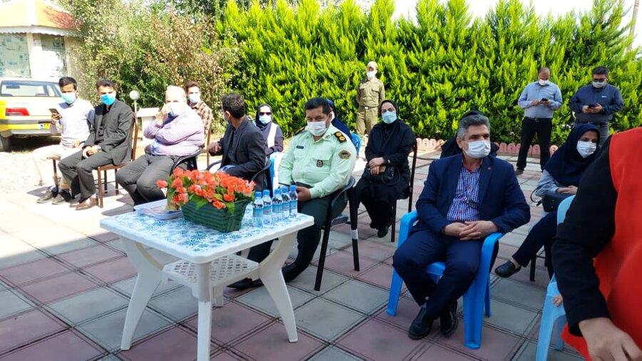 برگزاری برنامه یوگای خنده به مناسبت هفته سلامت روان در مرکز سالمندان میلاد نور فومن