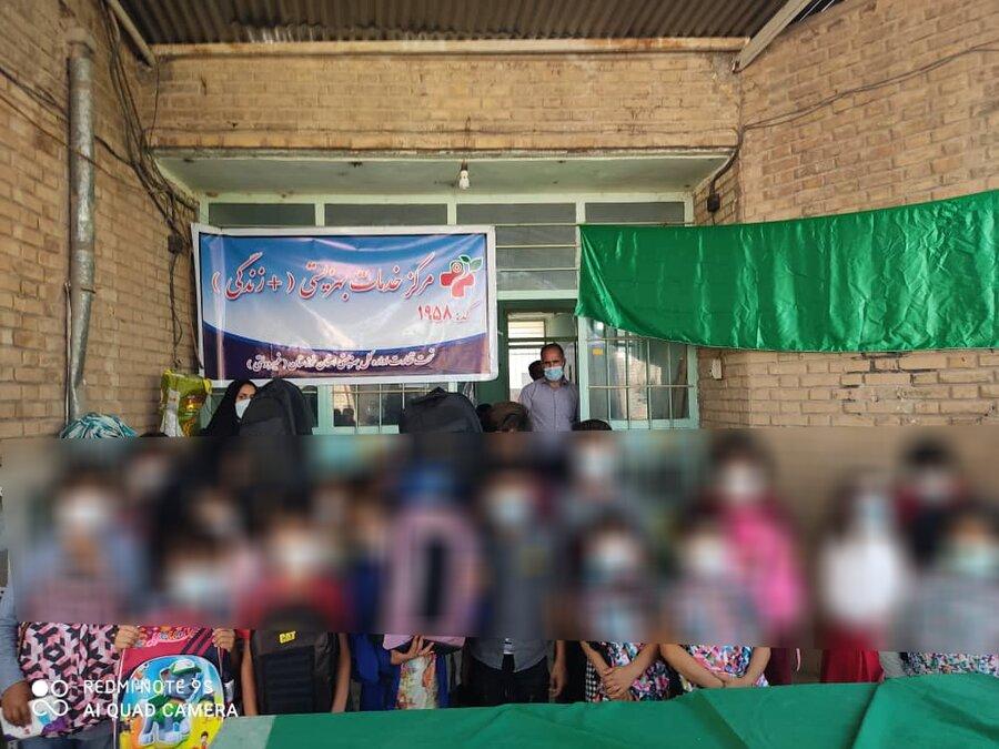 مراسم اهدا لوازم التحریر به دانش آموزان نیازمند تحت پوشش بهزیستی دزفول