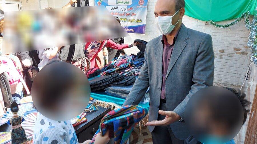 اهدا ۵۰۰ کیف و لوازم تحریر به کودکان محصل تحت پوشش بهزیستی دزفول