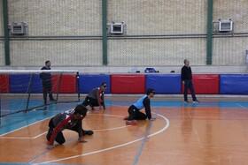 گزارش تصویری| برگزاری مسابقات چهارجانبه گلبال به مناسبت روز جهانی نابینایان