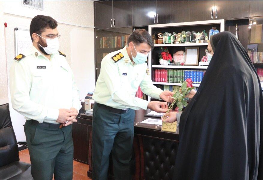 گزارش تصویری| دیدار مدیرکل بهزیستی استان با کارکنان نیروی انتظامی