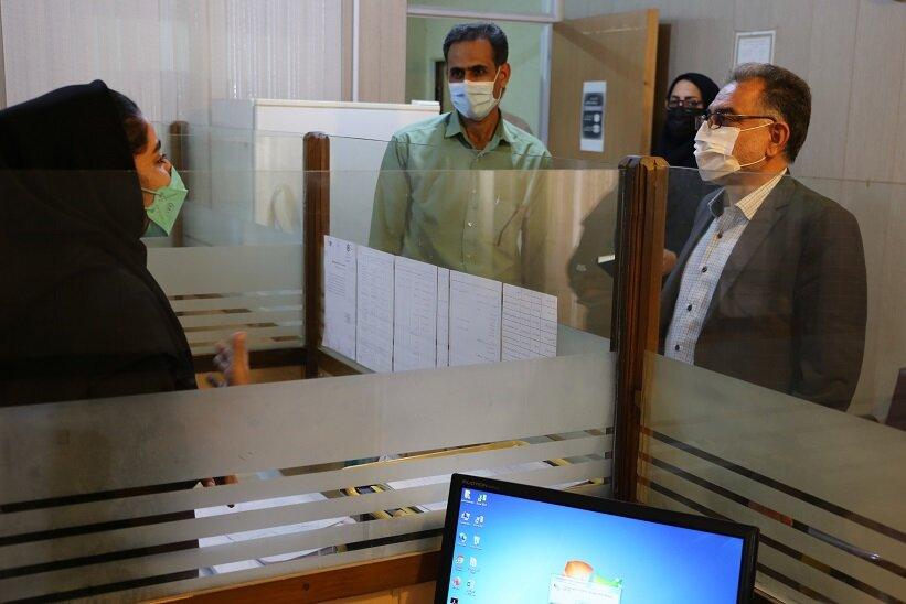 دیدار با کارکنان صدای مشاور خط 1480 در بندرعباس