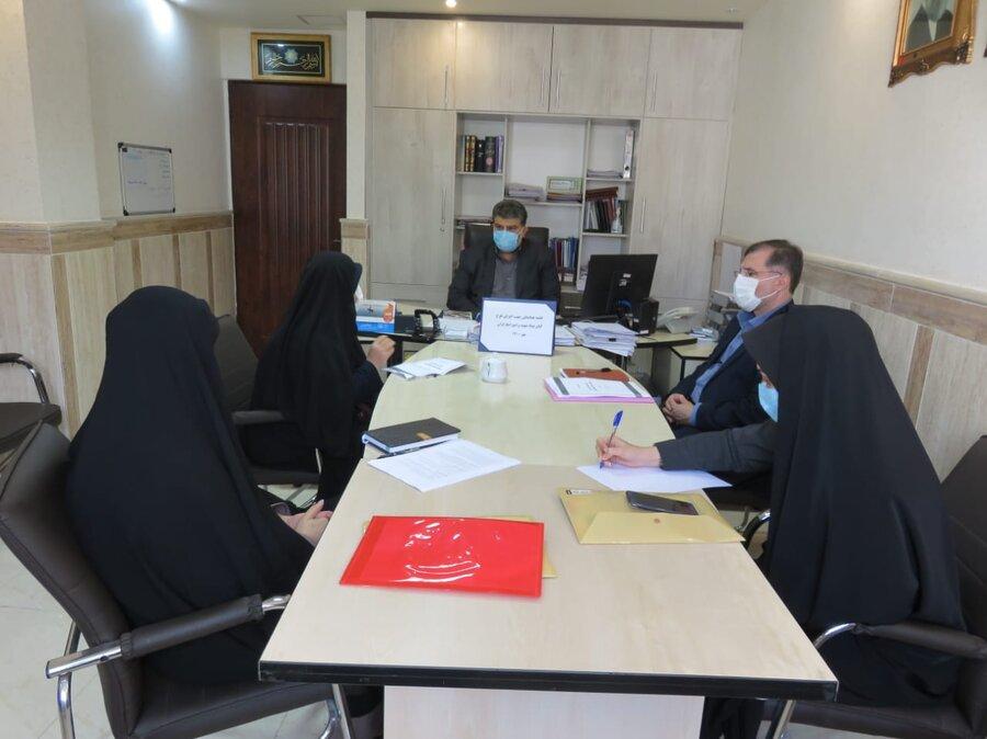 نشست در راستای اجرای برنامه پیشگیری از اعتیاد در نهادهای دولتی (برنامه کارمندیاری)
