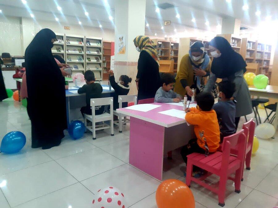 رباط کریم| برگزاری جشن هفته ملی کودک در مرکز مثبت بهزیستی