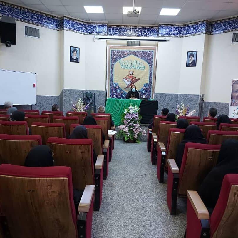 شهرقدس  کارگاه مولفه های بهداشت روان سالمندان برگزار شد