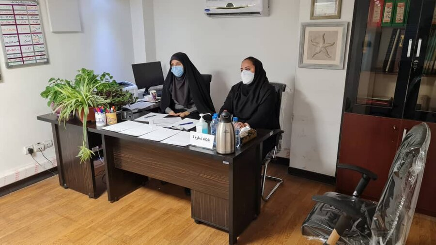 برگزاری مصاحبه نیروهای متقاضی حضور در اورژانس اجتماعی