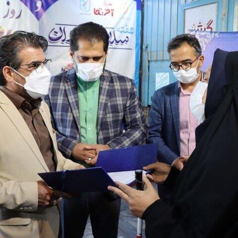 گزارش تصویری | برگزاری مراسم روز جهانی عصای سفید در سینما آفریقای مشهد