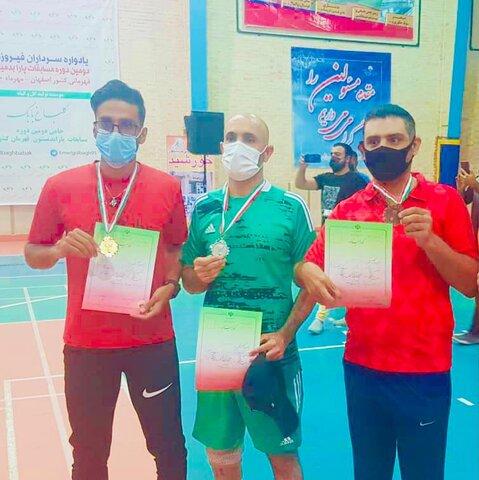 دیر|درخشش ورزشکاران دیّری در مسابقات پارابدمینتون قهرمانی کشور