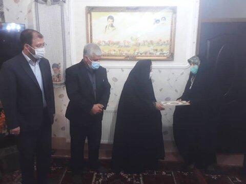 گزارش تصویری/ دیدار با خانواده شهید والامقام در شهرستان اهر