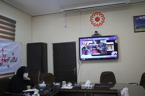 گزارش تصویری ا نشست مشترک فعالین امورنابینایان