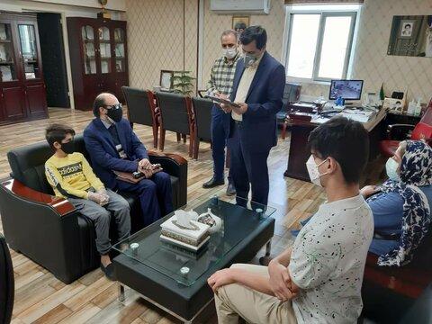 تقدیر مدیرکل بهزیستی استان از نابینایان نخبه به مناسبت روز جهانی عصای سفید