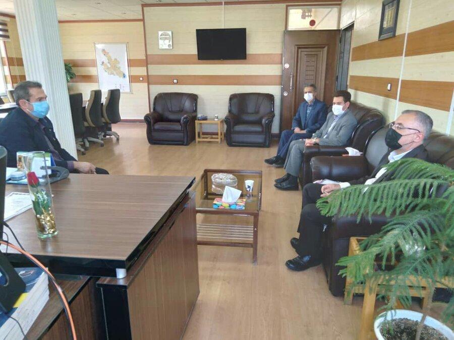 بازدید دوره ای مدیرکل و اعضای شورای معاونین بهزیستی استان از بهزیستی شهرستان خلخال