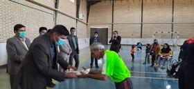 برگزاری جشنواره مسابقات جانبازان و معلولین شهرستان فاروج