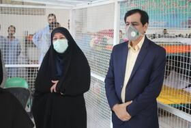 گزارش تصویری| بازدید رئیس مرکز توسعه و پیشگیری بهزیستی کشور از مرکز ماده ۱۶ مردان استان البرز
