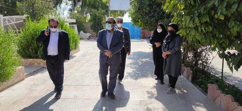 بازدید مسئولان بهزیستی فارس از مراکز سروستان
