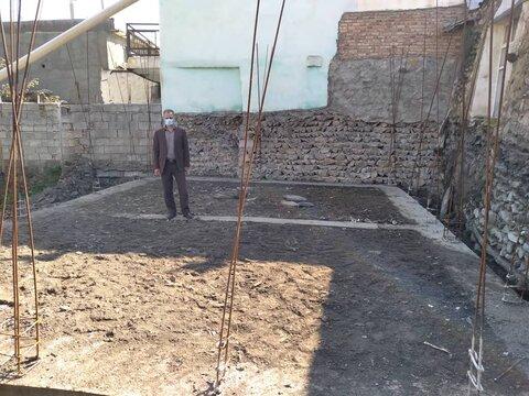 گزارش تصویری/ بازدید رئیس بهزیستی کلیبر از مراحل ساخت مسکن مددجوی