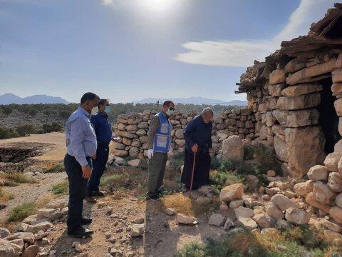 گزارش تصویری|بازدید مدیر کل پدافند غیرعامل و مدیریت بحران سازمان بهزیستی کشور از مناطق زلزله زده اندیکا