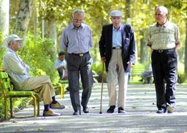 موشن گرافیک  سالمندان