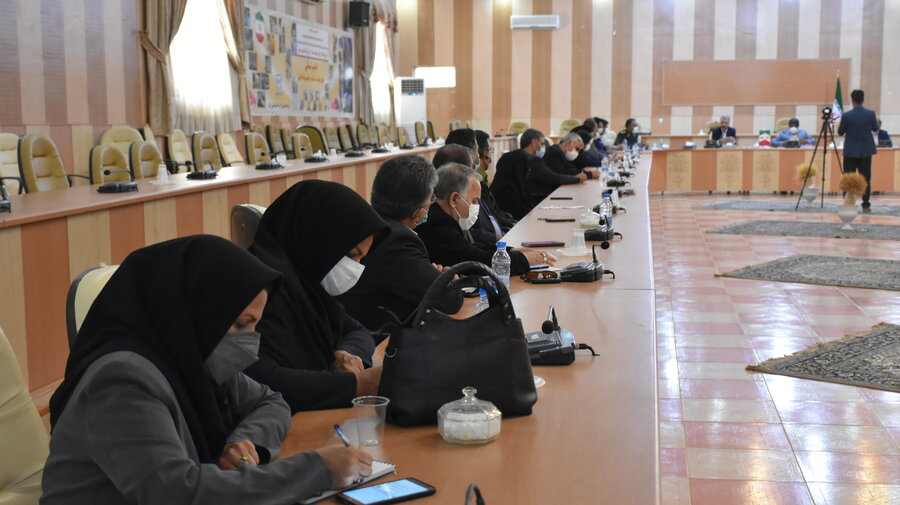 گزارش تصویری   سفر معاون امور اجتماعی بهزیستی کشور به شهرستان زابل