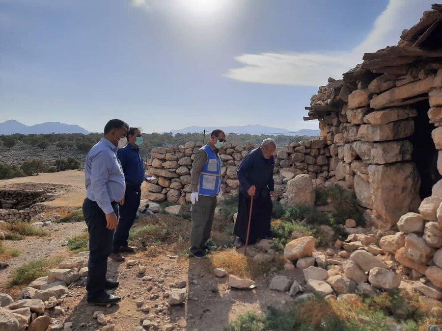 گزارش تصویری بازدید مدیر کل پدافند غیرعامل و مدیریت بحران سازمان بهزیستی کشور از مناطق زلزله زده اندیکا