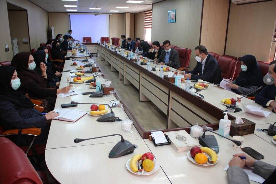 گزارش تصویری | مسئولین و کارشناسان مرکزتوسعه پیشگیری بهزیستی کشور میهمان بهزیستی استان البرز بودند