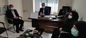بهار| نشست رئیس اداره بهزیستی با رئیس فنی حرفه ای شهرستان