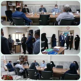 فردیس | رئیس اداره حراست بهزیستی استان البرز از اداره بهزیستی شهرستان فردیس بازدید کرد