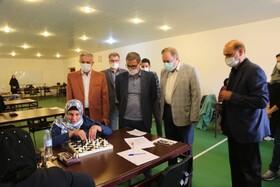 بازدید رئیس فدراسیون پزشکی ورزشی کشور از مرحله نهایی مسابقات شطرنج قهرمانی کشور بانوان نابینایان و کم بینایان انتخابی تیم ملی