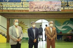 بازدید رئیس فدراسیون پزشکی ورزشی کشور از اردوی آمادگی تیم ملی گلبال بزرگسالان بانوان نابینا و کم بینا اعزامی به مسابقات پاسیفیک کره جنوبی