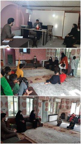 نظرآباد | نماینده دادستان شهرستان از مرکز نگهداری کودکان بدسرپرست و بی سرپرست شمیم مهربانی دنگیزک بازدید کرد