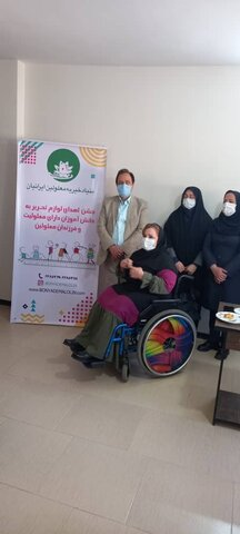 ساوجبلاغ | تأسیس وآغاز بکار بنیاد خیریه ایرانیان شعبه ساوجبلاغ