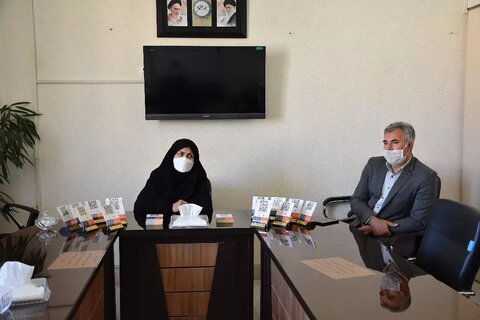 استیکر qr code برای اولین بار در راستای جلب و جذب حداکثری مشارکت های مردمی بهزیستی استان کرمانشاه
