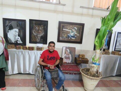 حسینی گفت: آثار ومحصولات هنری وصنایع دستی و مشاغل خانگی جامعه هدف بهزیستی سیرجان در قالب نمایشگاهی در معرض دید شهروندان قرار گرفت.