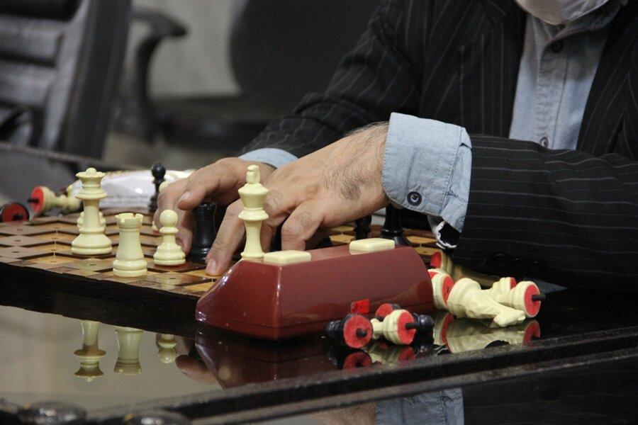 گزارش تصویری  اختتامیه مسابقات شطرنج نابینایان و کمبینایان