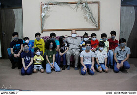 بازدید استاندار از خانه نگهداری کودک و نوجوان پسر ندای مهر بهزیستی شهرستان بوشهر