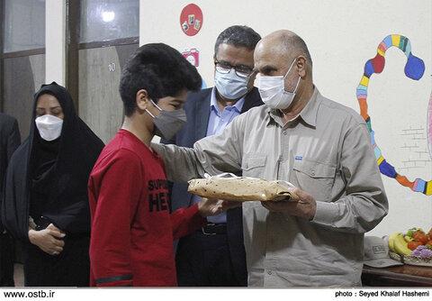 گزارش تصویری بازدید استاندار بوشهر خانه نگهداری کودک و نوجوان پسر ندای مهر بهزیستی شهرستان بوشهر
