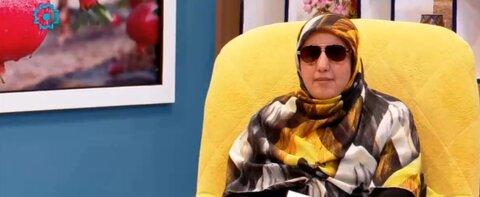 فیلم  برنامه تلویزیونی گئجه لر با حضور افراد دارای معلولیت بینایی