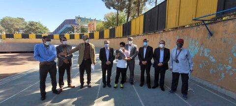 گزارش تصویری| برگزاری مسابقات دو و میدانی نابینایان و کمبینایان به مناسبت روز جهانی عصای سفید