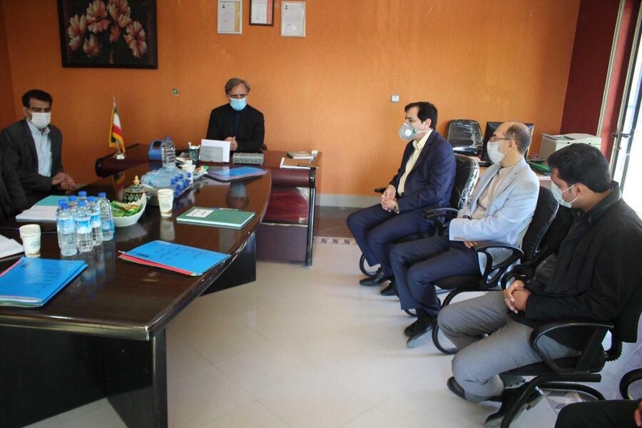 بازدید دادستان استان البرز از مرکز ماده ۱۶