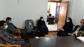 بازدید رئیس گروه آمار بهزیستی کشور از مراکز مثبت زندگی شهرستان محمودآباد