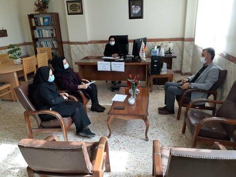 گزارش تصویری/ نشست گروه همیاران زنان  سرپرست خانوار در بهزیستی سراب