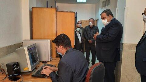 گزارش تصویری|نجفآباد| بازدید مدیرکل بهزیستی استان اصفهان از کتابخانه ویژه نابینایان و مراکز نگهداری توانبخشی