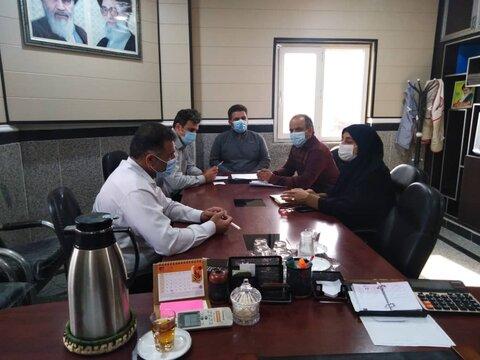 تنگستان نشست هم اندیشی  بهزیستی با بنیاد مسکن شهرستان تنگستان برگزار شد