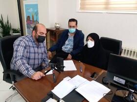 گزارش تصویری/ بازدید آنلاین از مرکز نگهداری شبانه روزی توانبخشی