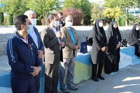 گزارش تصویری| شهرضا| همایش پیادهروی با حضور؛ رئیس اداره بهزیستی، شهردار، اعضای شورای اسلامی و جمعی از شهروندان برگزار شد
