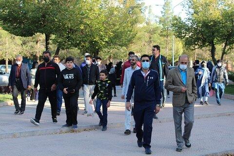 شهرضا| برگزاری همایش پیاده روی بمناسبت هفته ارتقاء سلامت روان