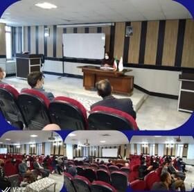 نهاوند| برگزاری جلسه شورای اداری بهزیستی شهرستان