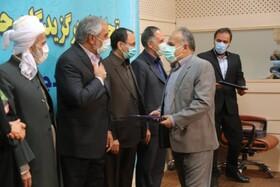 تجلیل از مدیرکل بهزیستی کردستان به عنوان مدیر دستگاه برتر در جشنواره شهید رجایی